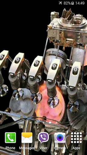 エンジン4Kビデオライブ壁紙