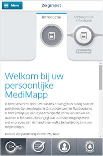 MediMapp - náhled