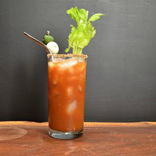 Mezcal Mary Cocktail.