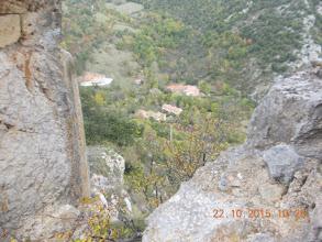 Photo: la Vilasse depuis Castel Sabarda