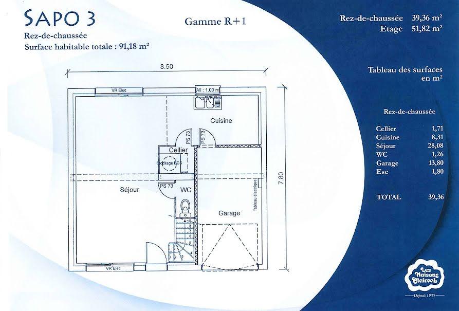 Vente maison 5 pièces 91 m² à Flagy (77940), 248 000 €