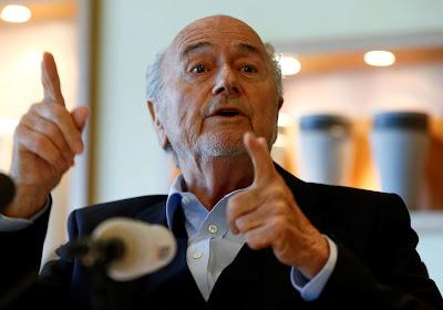Sepp Blatter in het oog van de storm!