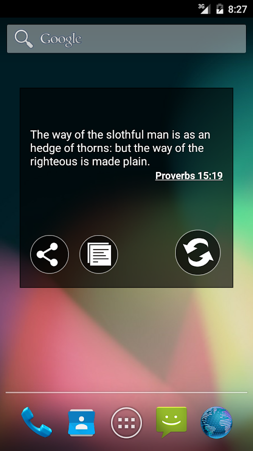 Bible KJV- screenshot