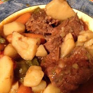 Southern Neck Bone Stew.