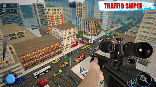 Sniper Traffic Shooter - New shooting games - FPS 1.8 de.gamequotes.net 3