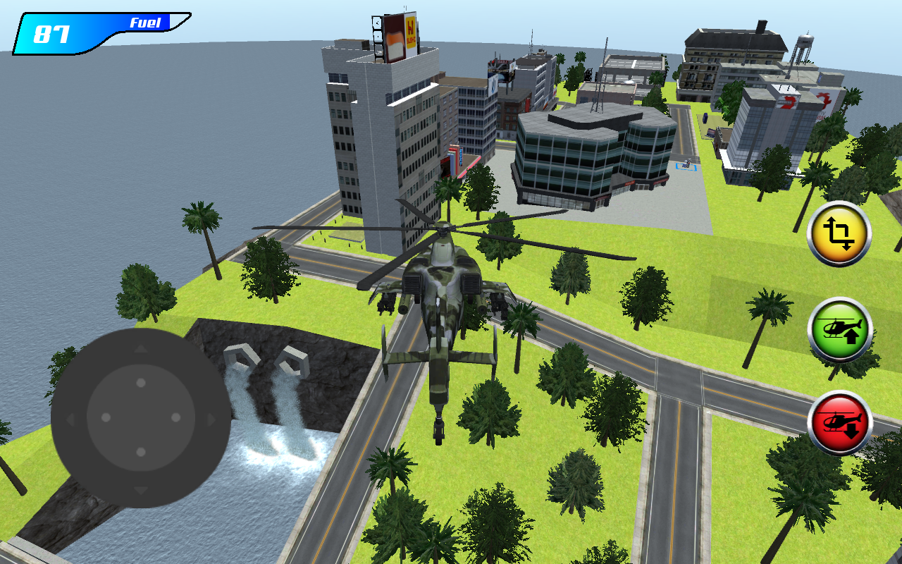 X Robot Helicopter- screenshot