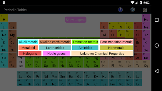 Periodic table adfree apps on google play screenshot image urtaz Gallery