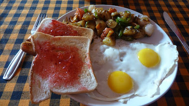 Photo: Western Breakfast Chapora Goa