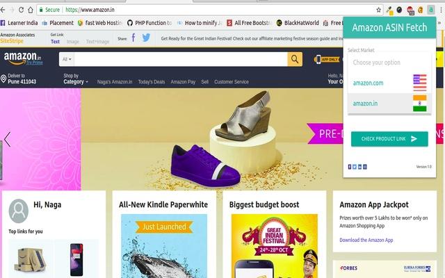 Amazon ASIN Fetcher