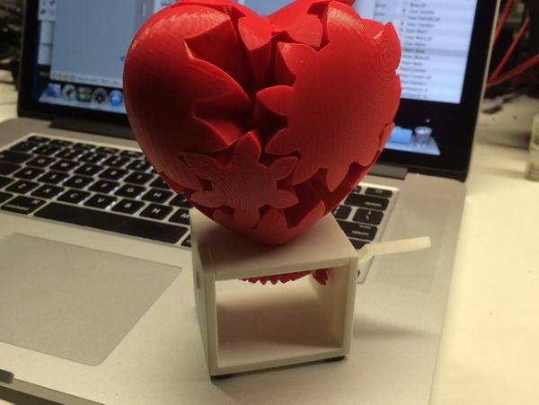 3D Print Soften 3D модель - Сердце
