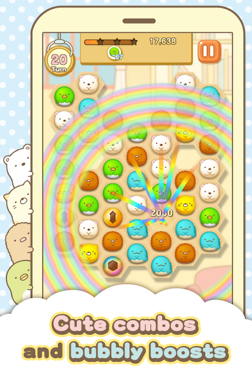 Screenshot 4 Sumikko gurashi-Puzzling Ways 1.8.0 APK MOD