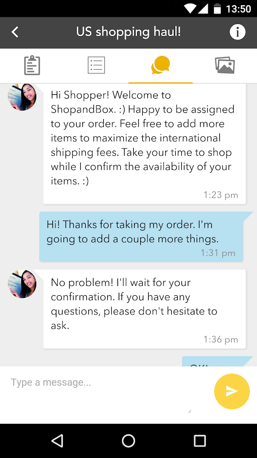 ShopandBox- screenshot