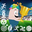 Sports mini games icon