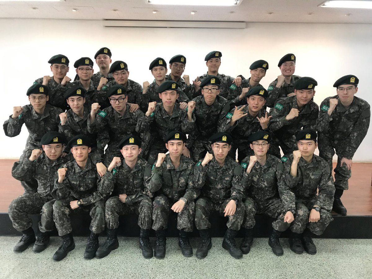 xiumin army 1