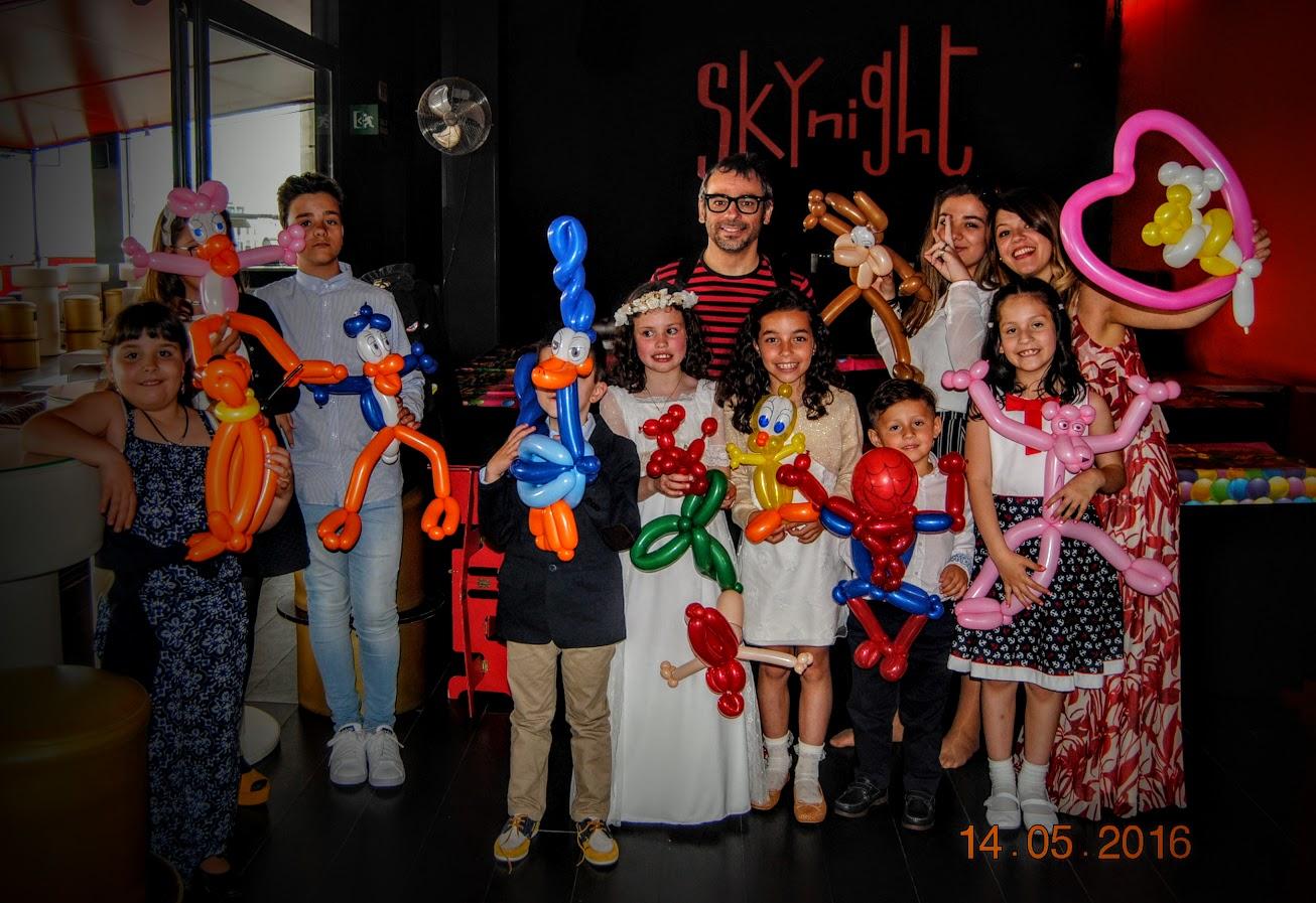 magia y globoflexia en primera comunión Alfonso V 2016