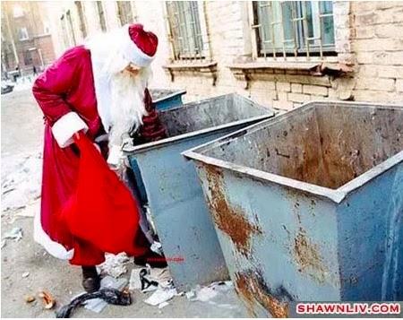 Trash Santa Claus