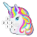 Coloring Game Little Pony Color Number Pixel icon