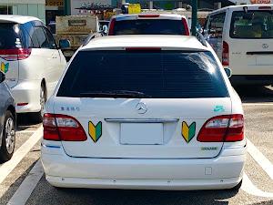 Eクラス ステーションワゴン W211のカスタム事例画像 とよでぃーさんの2020年08月29日20:52の投稿