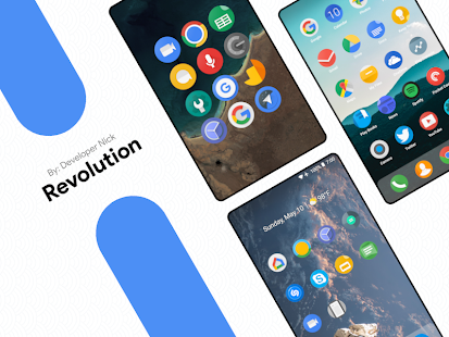 Revolution Icon Pack Screenshot