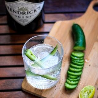 Sparkling Cucumber Chili Gin