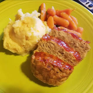 One Pot Meal – Meatloaf and Mashed Potatoes.