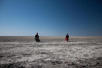 Photo: Sua pan in Central Botswana / Solná pánev Sua ve střední Botswaně