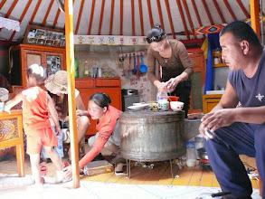 Photo: 24. Honshorin, mongolians family