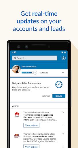 LinkedIn Sales Navigator 6.8.7 screenshots 1