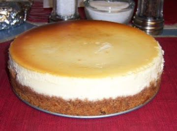 Crack Proof: New York Style Cheesecake Recipe