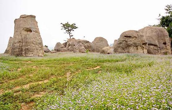 Photo: แท่่งหินรูปต่างๆ ที่มอหินขาวwww.remawadee.com