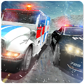 Ambulance Police Car Drift Rescue Driving Fun Game