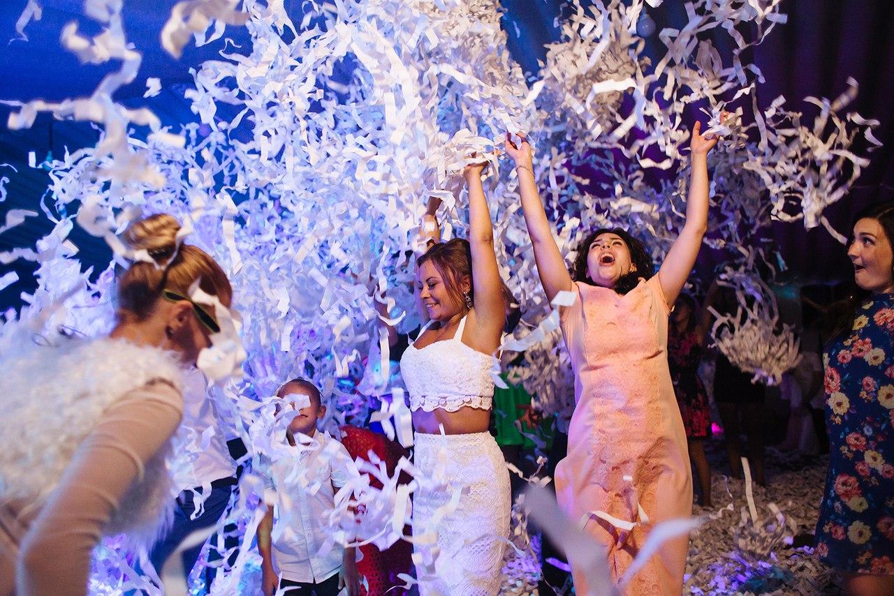 Magic Boom - бумажное шоу в Самаре