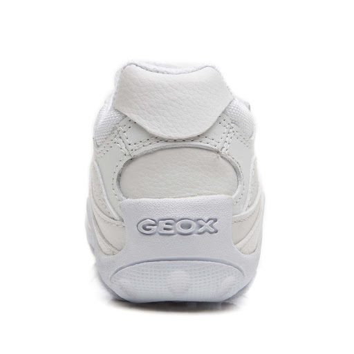 Thumbnail images of Geox Crush Leather Trainer