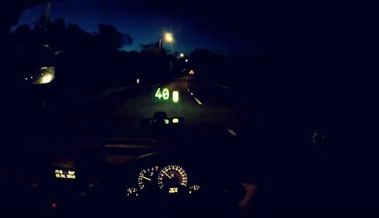 HUD: Noční rychloměr - náhled