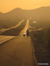 Photo: (Year 3) Day 40 - Early Morning on the Motorway  #2