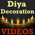 DIY Diya/Lamp Decoration VIDEO icon