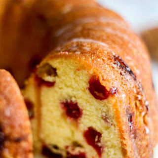 Cranberry Orange Pound Cake Recipes