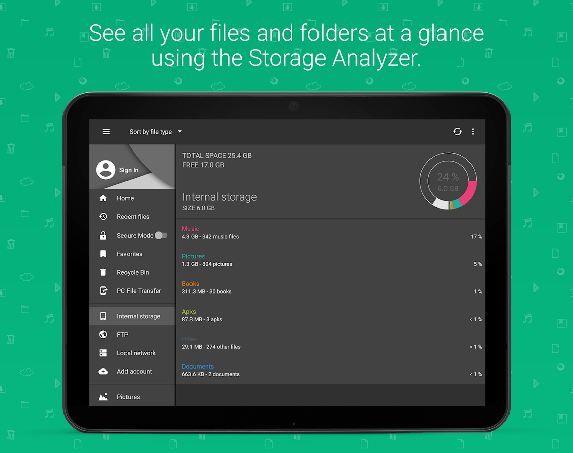 Screenshots of File Commander - File Manager for iPhone