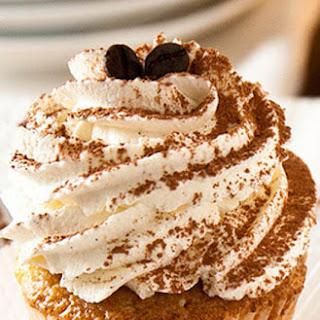 Tiramisu Cupcakes with Coffee Marsala Syrup