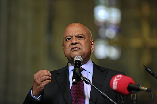Minister Pravin Gordhan. Picture: REUTERS