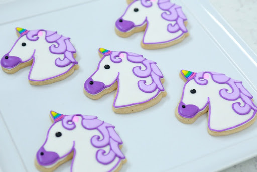Unicorn Emoji Cookies