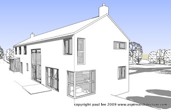 Photo: Energy Efficient House near Rathcormac Co. Cork by Aspire Architecture. Completed 2008.