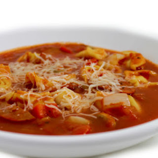 Crock-Pot, Skinny Pepperoni Pizza Soup.