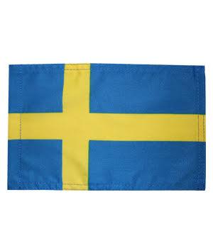 Sverige bilflagga 18x27 cm