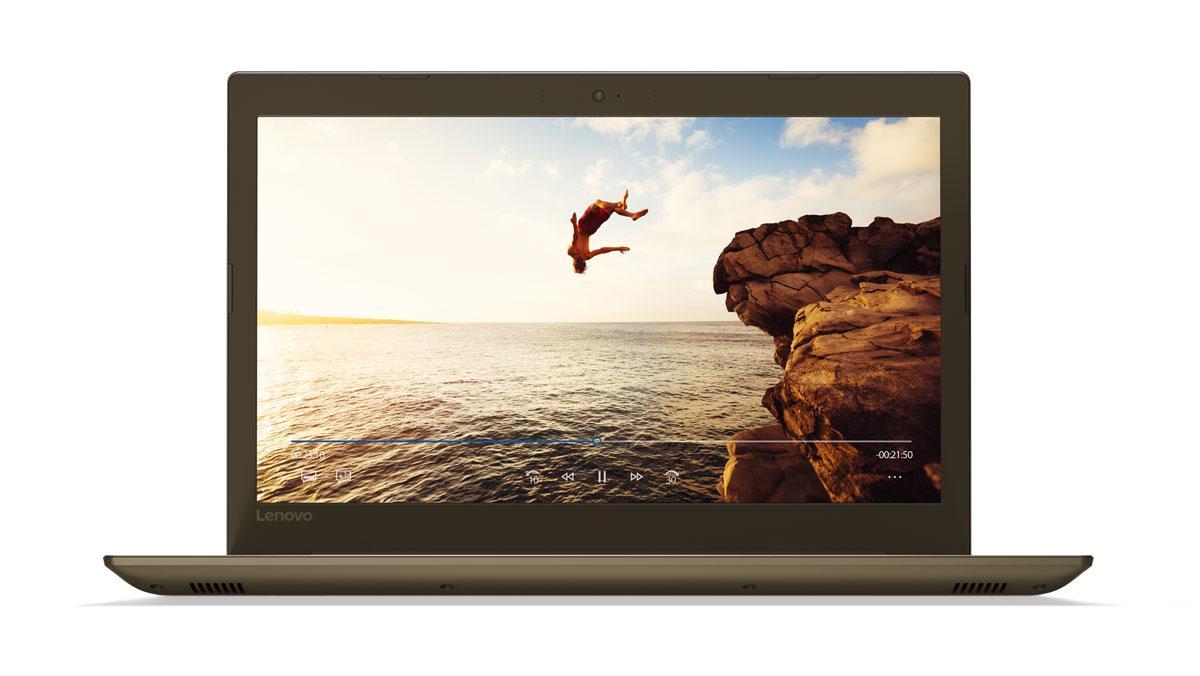 Фото 1 - Ноутбук Lenovo IdeaPad 520-15IKB Bronze (80YL00LLRA)