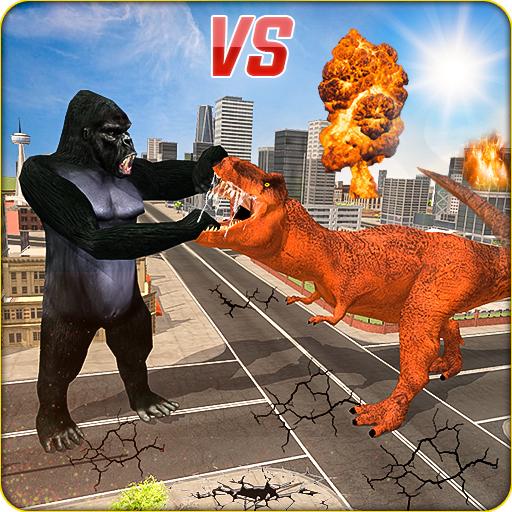 Baixar Monster Dino Vs King Kong-City Rampage Simulator para Android