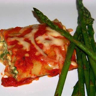 Gina's Easy Lasagna Rolls.