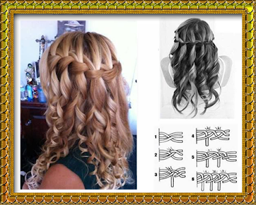 My hair style (hair binding) screenshot 2