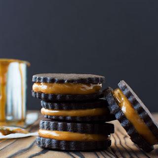Chocolate Dulce de Leche Cookies