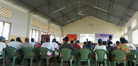 Photo: Meeting at the St. Patricks Hallhttp://koru.or.ke